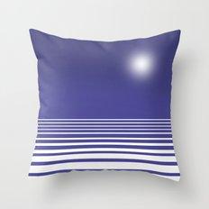 Winter Nights Throw Pillow