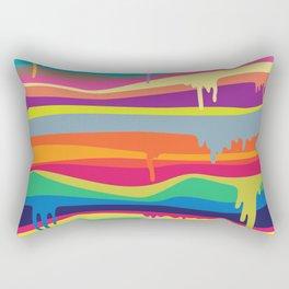 The Melting Rectangular Pillow