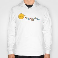planets Hoodies featuring Planets by awkwardyeti