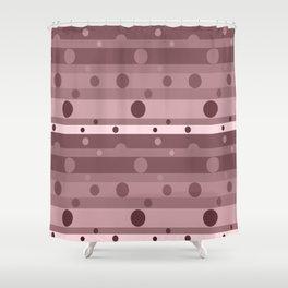 Wine Dots Shower Curtain