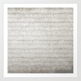 """MUSIC by collection """"Music"""" Art Print"""
