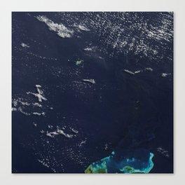 New Island Made of Tuff Stuff Canvas Print