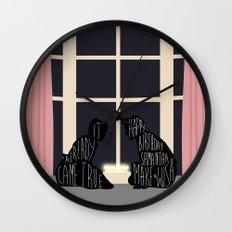 16 Candles Wall Clock