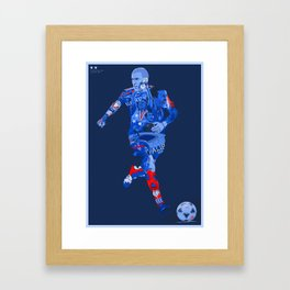 EQUIPE DE FRANCE DE FOOTBALL Framed Art Print
