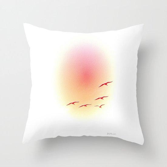 High Five Throw Pillow