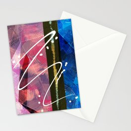 Abstract 80s Stationery Cards