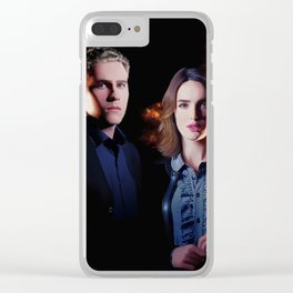 Fitzsimmons - Firelights Clear iPhone Case