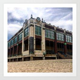 Asbury Park, NJ Convention Hall 08/23/2015 Art Print