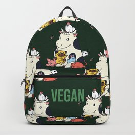 Pug and Friends Vegan Backpack