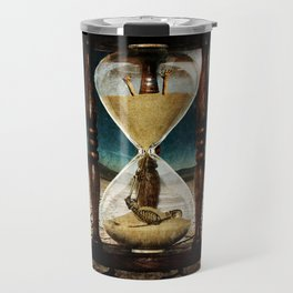 Sands of Time ... Memento Mori Travel Mug