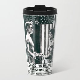 Rocky Balboa vs Ivan Drago Travel Mug