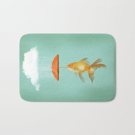 Fish Cover Bath Mat