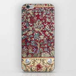 "William Morris ""Tree of life"" 2. iPhone Skin"