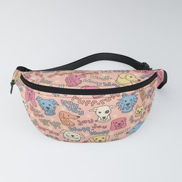 Multi-lingual Barking Dogs Fanny Pack