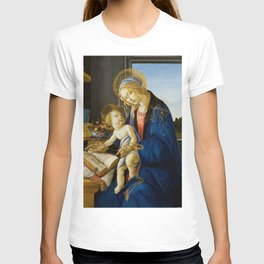 The Virgin and Child by Sandro Botticelli T-shirt