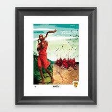 Poster Afryka! Framed Art Print