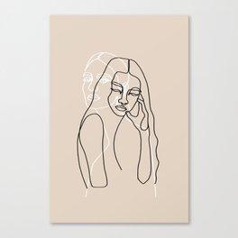 Alma & Wanda Canvas Print