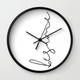 bésame Wall Clock