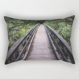 The bridge at Cedar Creek Rectangular Pillow