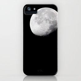 Waning Gibbous iPhone Case