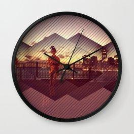 The NY bay Wall Clock