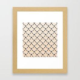 Mod Ivory Framed Art Print