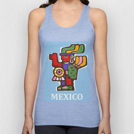 Mexico Aztec or Mayan Travel Unisex Tank Top