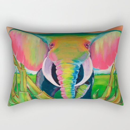 africa Rectangular Pillow