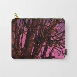 Spooky Trees - Pink  Carry-All Pouch