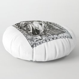 Necromancer Floor Pillow