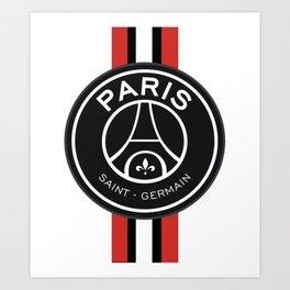 PSG Logo football Art Print