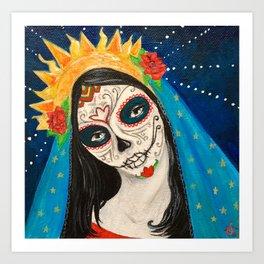 Mary Muerta Art Print