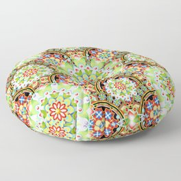 Carnival Mandala Floor Pillow