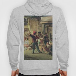 Backstage Of The Circus 1859 By Fyodor Bronnikov   Reproduction   Romanticism Painting Hoody