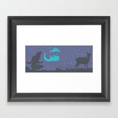The Werewolf of Saddle Creek Framed Art Print