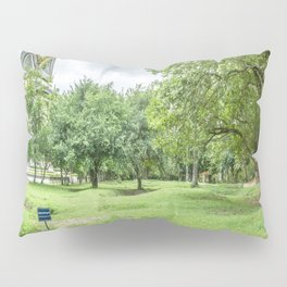 The Killing Fields and Stupa, Cambodia Pillow Sham