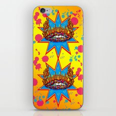 Psychedelic Lips  iPhone & iPod Skin