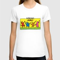 keith haring T-shirts featuring Haring Time by le.duc