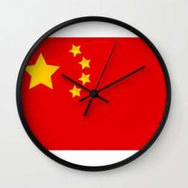 China flag Wall Clock