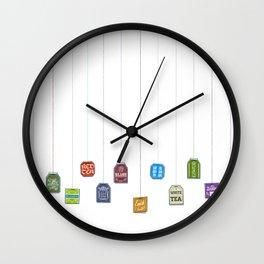c[_] I love tea c[_] Wall Clock