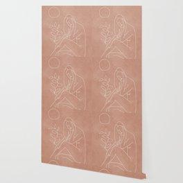 Engraved Nude Line I Wallpaper