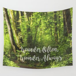 Wander Often Wall Tapestry