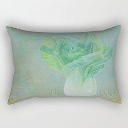Bok Choy Still Life Rectangular Pillow