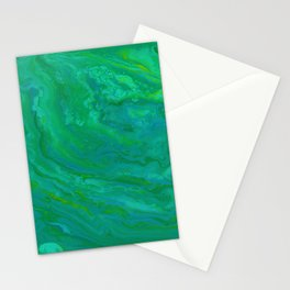 Paint Pouring 65 Stationery Cards