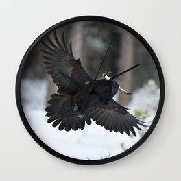Minotaurcrow Wall Clock