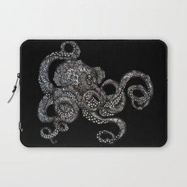 Barnacle Octopus in Black Laptop Sleeve