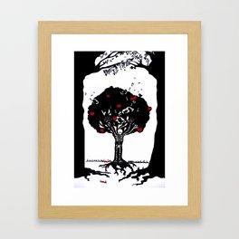 Death by desire Framed Art Print
