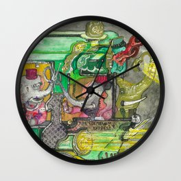 The Perfect PB & J Wall Clock