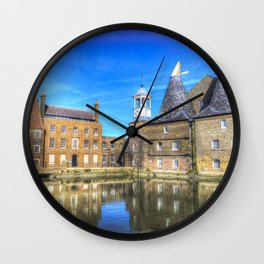 Three Mills Bow London Wall Clock