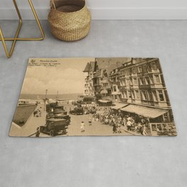 Knokke 1920s The aperitif hour Rug